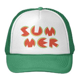 Cute Cool Summer Watermelon Trucker Hat