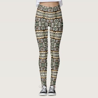 Cute Cool Tribal Fashion Chic Leggings