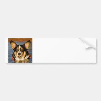 Cute Corgi Bumper Sticker