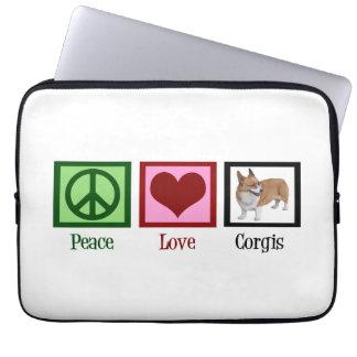 Cute Corgi Computer Sleeves