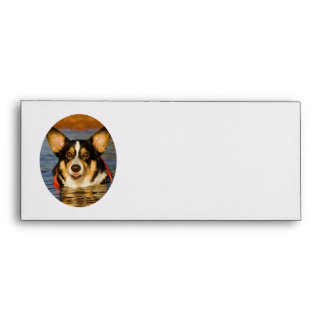 Cute Corgi Design Envelope