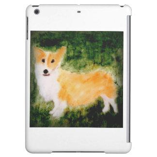 Cute Corgi Dog Art Cover For iPad Air