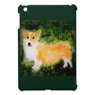 Cute Corgi Dog Art iPad Mini Covers