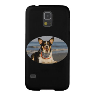 Cute Corgi Licking his Chops Galaxy S5 Case