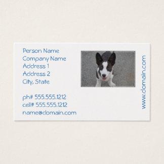 Cute Corgi Puppy Business Card