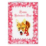 Cute Corgi Valentine's Day Card