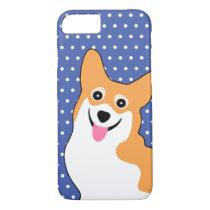 Cute Corgi with a Big Smile iPhone 7 Case