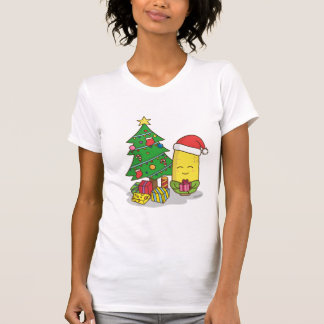 Cute Corn Christmas Tree Decorations T-Shirt