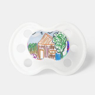 CUTE COTTAGE HOME : KIDS ART BABY PACIFIER