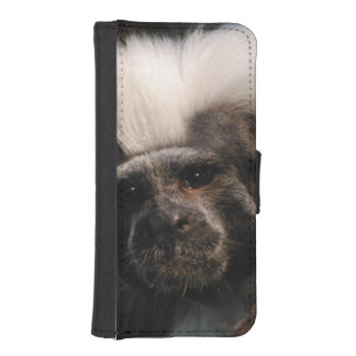 Cute Cotton Topped Tamarin iPhone SE/5/5s Wallet