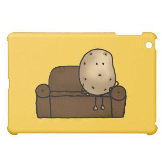 Cute couch potato iPad mini cover
