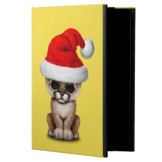 Cute Cougar Cub Wearing a Santa Hat Powis iPad Air 2 Case