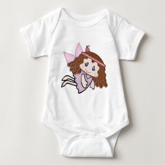 Cute Country Angel Infant Creeper
