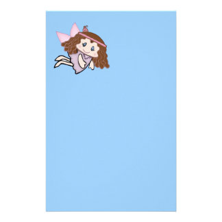 Cute Country Angel Stationery