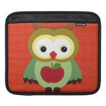 Cute Country Autumn Owls iPad Sleeve
