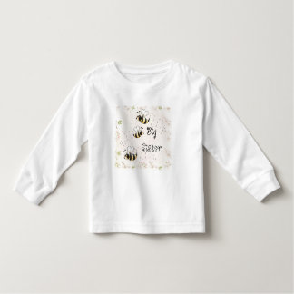 Cute Country Bees Big Sister Toddler T-shirt