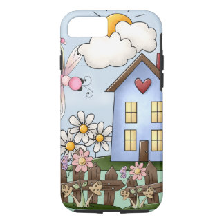Cute Country Folk Art Picture iPhone 7 Case