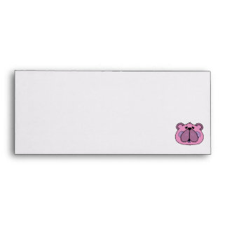 cute country style bear face envelope