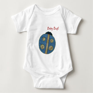 Cute Country Style Blue Ladybug Baby Bug Tees