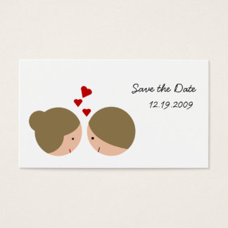 Cute Couple Business Card