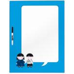 Cute couple Dry-Erase whiteboard