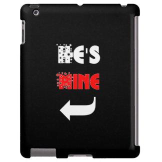 Cute Couple 'He's Mine' Phone Cases