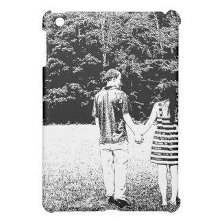 Cute Couple Holding Hands iPad Mini Case