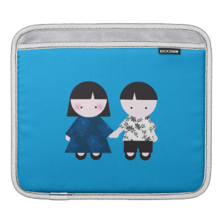 Cute couple iPad sleeves