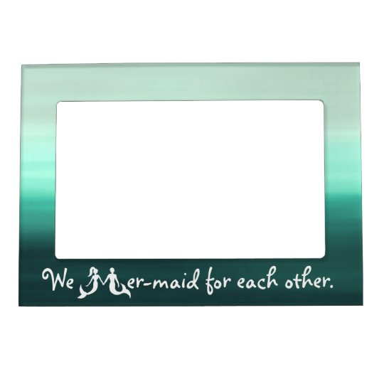 Cute Couple Mermaid Frame | Zazzle.com
