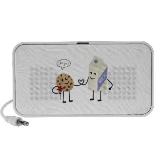 Cute Couple - Milk and Cookie Mini Speakers
