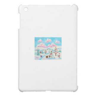 Cute cow and sheep case for the iPad mini