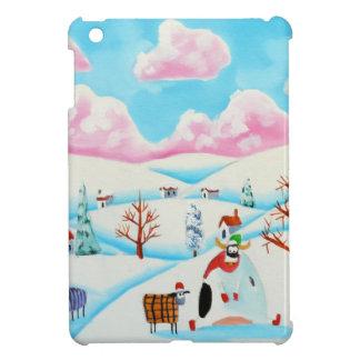 Cute cow and sheep iPad mini cases