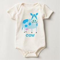 Cute Cow Baby Tee
