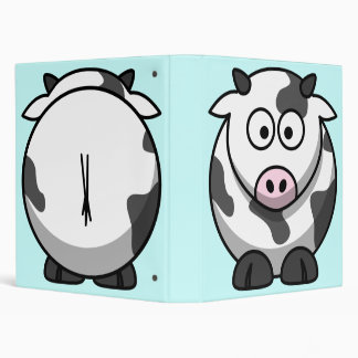 Cute Cow Binder