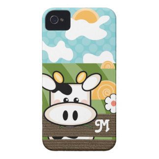Cute Cow Blackberry Bold Case Mate