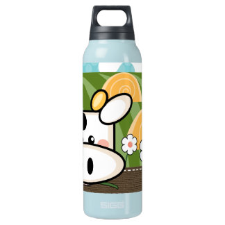 Cute Cow BPA Free Insulated Water Bottle