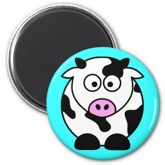 CUTE COW BULL MAGNET