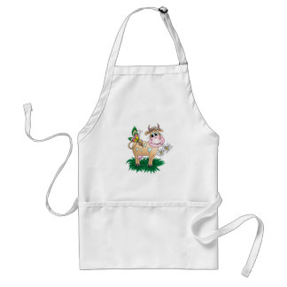 Cute Cow Butterfly Apron