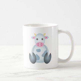 Cute Cow Cartoon Coffee Mug