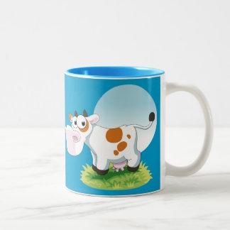 Cute Cow Cartoon Mug Mug