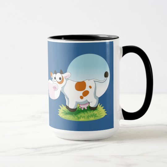 Cute Cow Cartoon Mug