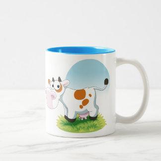 Cute Cow Cartoon Mug Coffee Mug