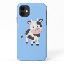 Cute cow iPhone 11 case