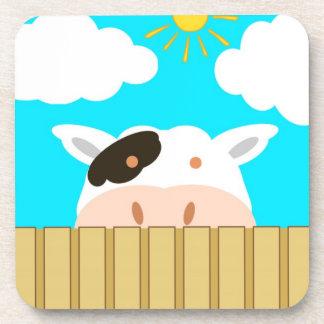 Cute Cow Coaster