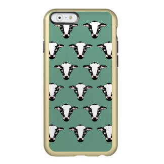 Cute Cow Face Pattern Incipio Feather® Shine iPhone 6 Case