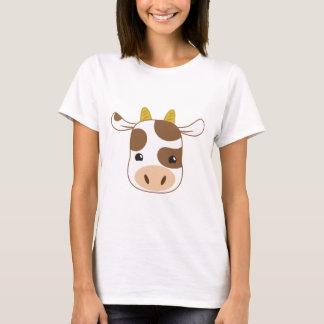 cute cow face T-Shirt