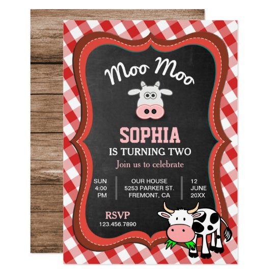 Cute Text Message Party Invitation