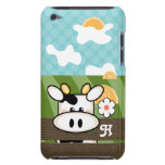 Cute Cow iPod Touch Case Mate Initial