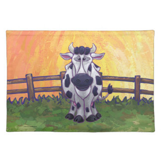 Cute Cow Kitchen Accessories Placemat
