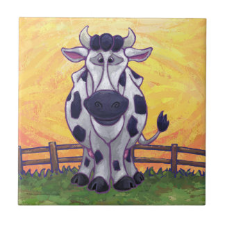 Cute Cow Kitchen Accessories Tile
